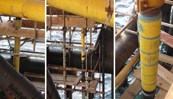 riser repair offshore