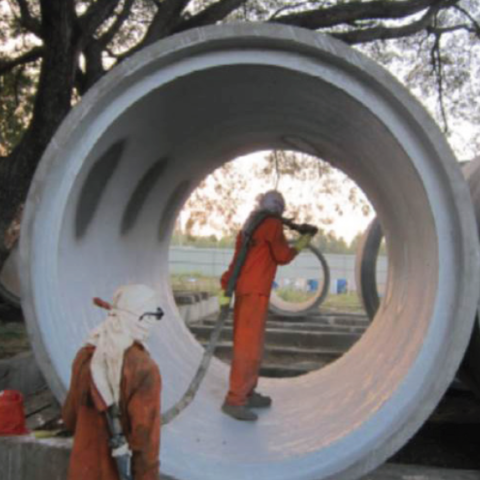 Coating of Sewage Pipes India